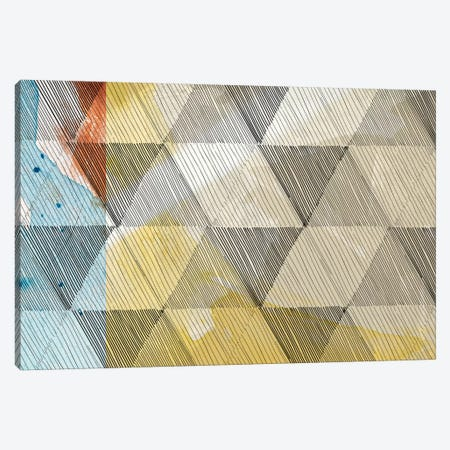 Geo Now Sketch I Canvas Print #SIS48} by Sisa Jasper Canvas Artwork