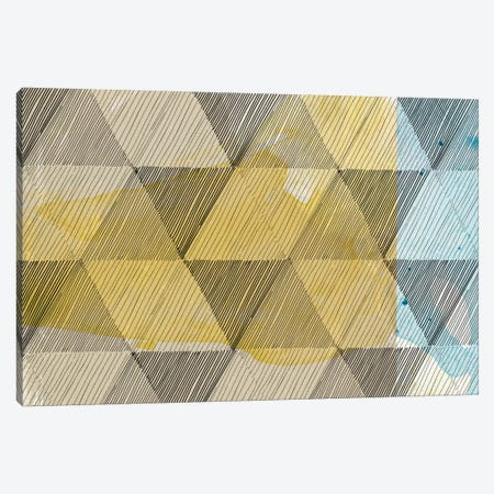 Geo Now Sketch II Canvas Print #SIS49} by Sisa Jasper Canvas Artwork