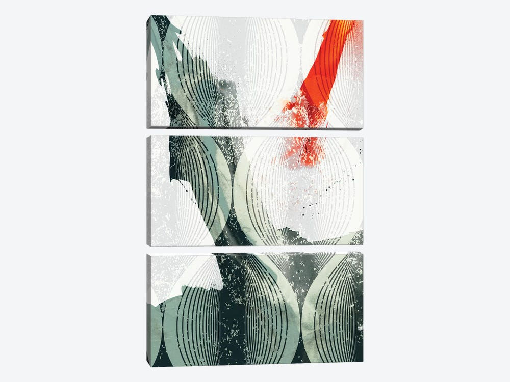 Minimal Wave II by Sisa Jasper 3-piece Canvas Art
