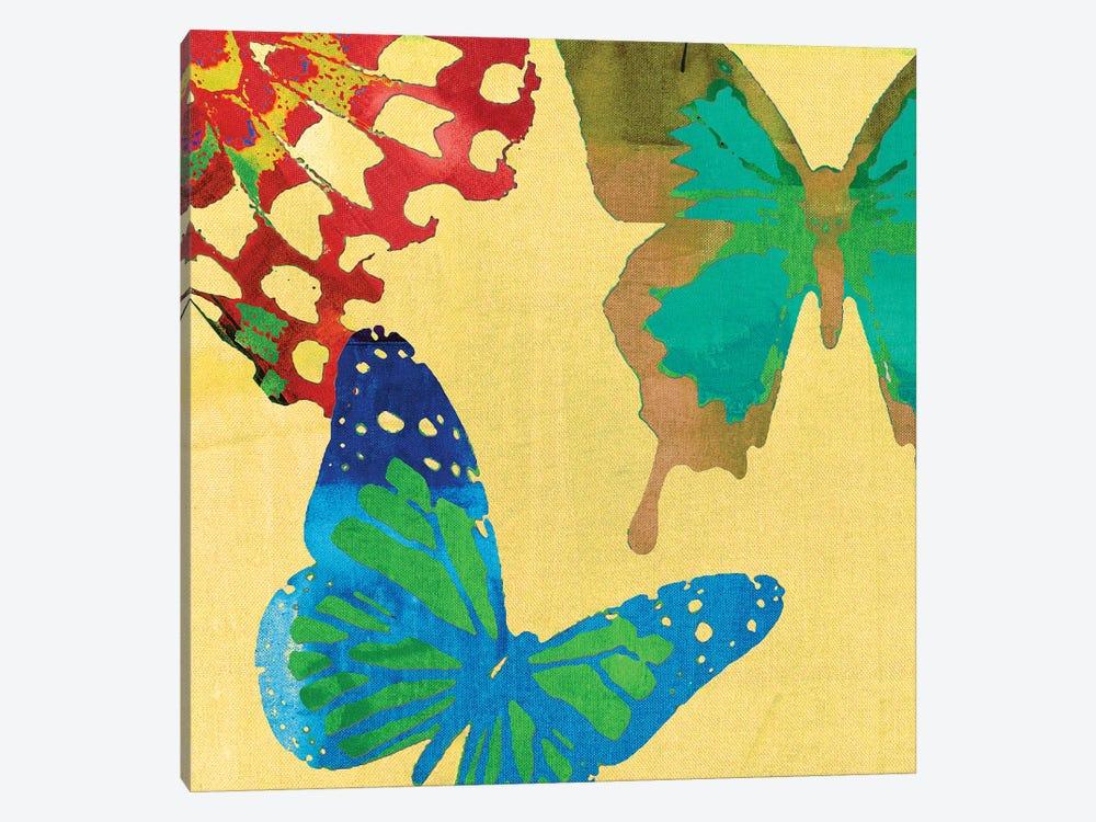Saturated Butterflies III by Sisa Jasper 1-piece Art Print