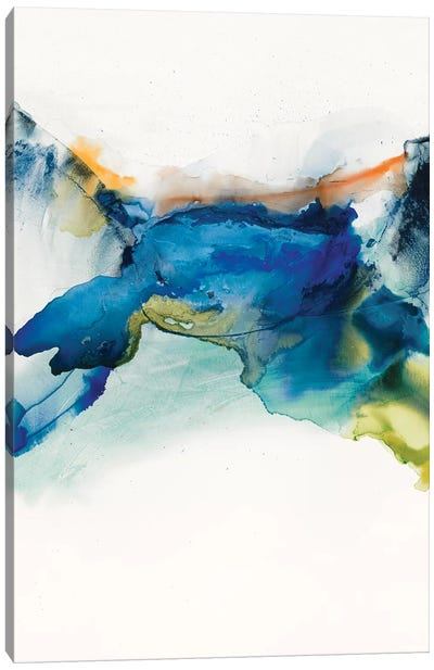 Abstract Terrain II Canvas Art Print