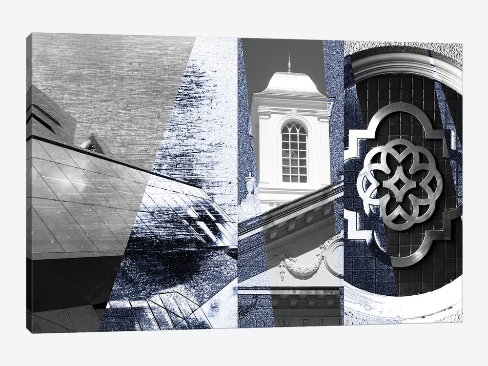 Architecture Collage I by Sisa Jasper 1-piece Canvas Art