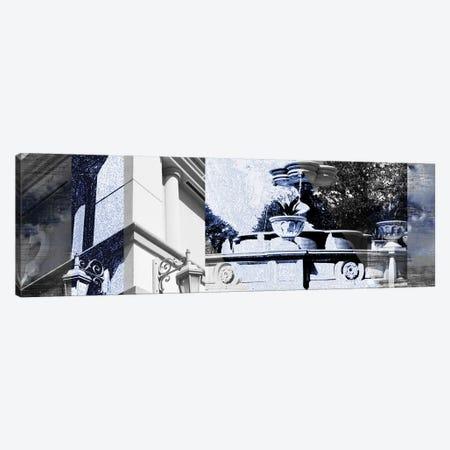 Architecture Collage II Canvas Print #SIS61} by Sisa Jasper Canvas Art