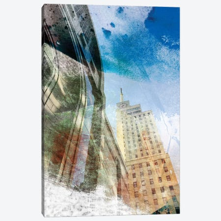 Dallas Architecture I Canvas Print #SIS69} by Sisa Jasper Canvas Artwork