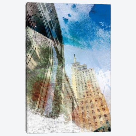 Dallas Architecture I 3-Piece Canvas #SIS69} by Sisa Jasper Canvas Artwork