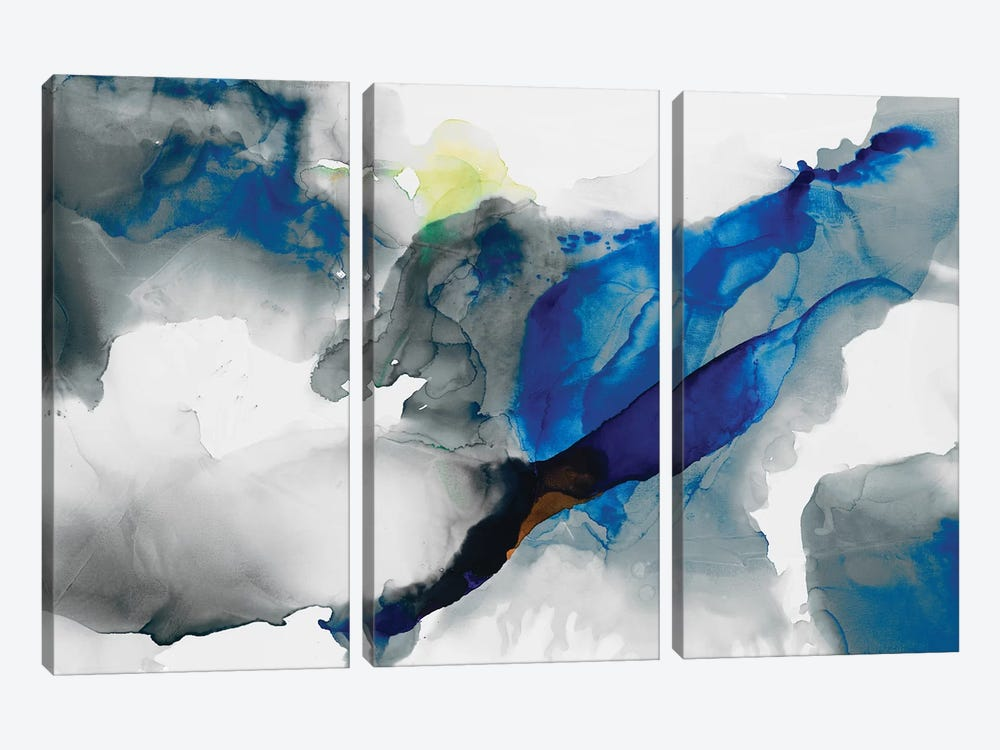 Ephemeral I by Sisa Jasper 3-piece Canvas Art Print