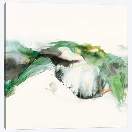 Green Terrain I 3-Piece Canvas #SIS79} by Sisa Jasper Canvas Print