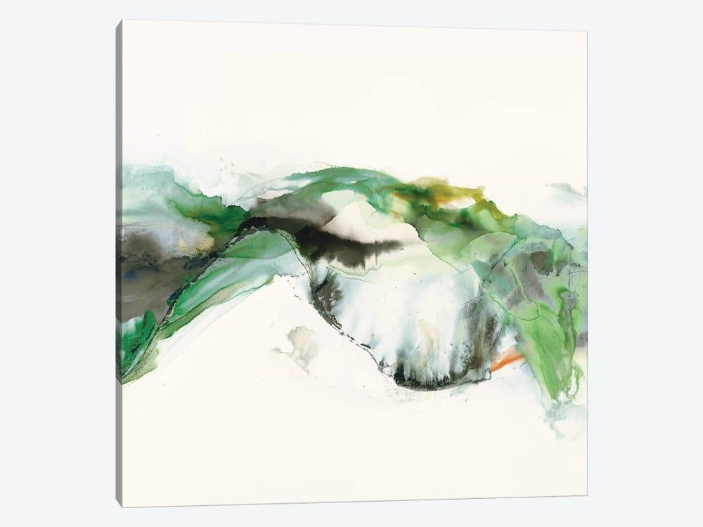 Green Terrain I by Sisa Jasper 1-piece Canvas Artwork