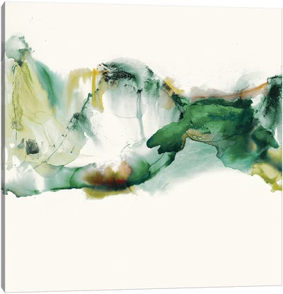 Green Terrain II Canvas Art Print