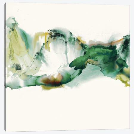 Green Terrain II 3-Piece Canvas #SIS80} by Sisa Jasper Canvas Art