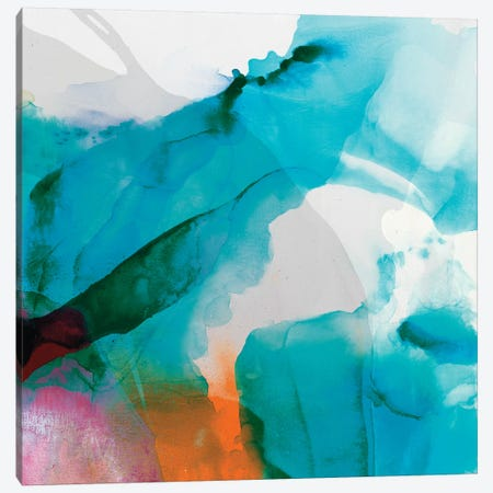 LA Abstract II Canvas Print #SIS85} by Sisa Jasper Art Print