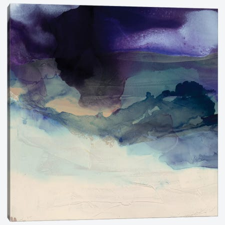 Purple Wunderlust I Canvas Print #SIS92} by Sisa Jasper Art Print