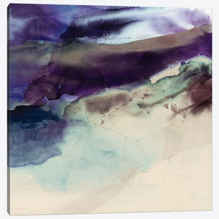 Purple Wunderlust II Canvas Print #SIS93} by Sisa Jasper Art Print