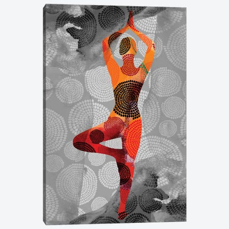 Yoga Pose I Canvas Print #SIS96} by Sisa Jasper Canvas Wall Art