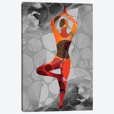 Yoga Pose I Canvas Print #SIS96} by Sisa Jasper Canvas Wall Art