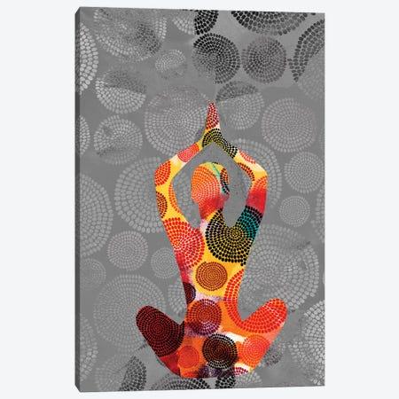 Yoga Pose III Canvas Print #SIS97} by Sisa Jasper Canvas Wall Art