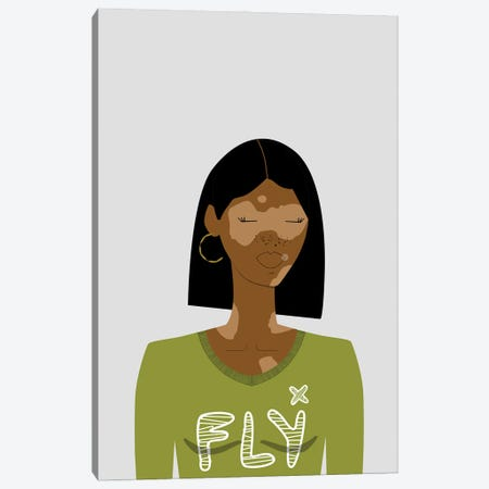 Mina Canvas Print #SIT14} by sheisthisdesigns Art Print
