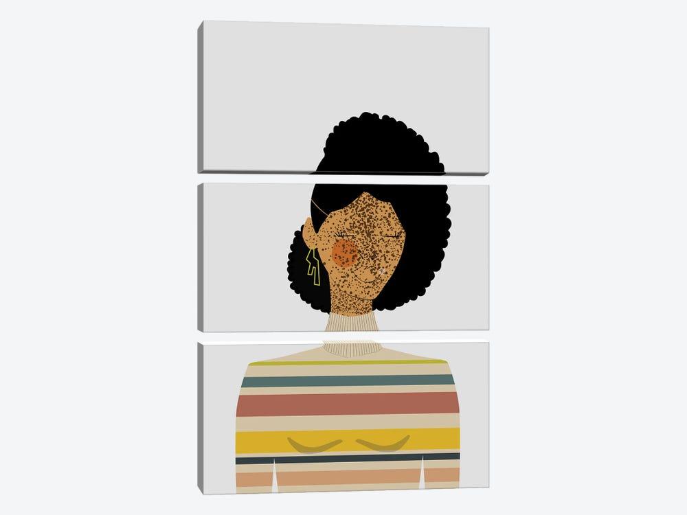 Gena by sheisthisdesigns 3-piece Canvas Art Print