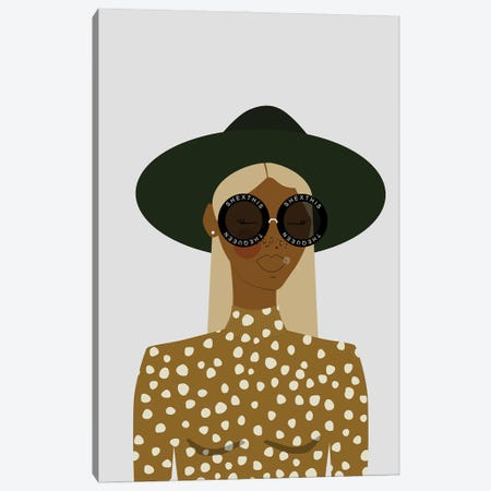 Rae Canvas Print #SIT18} by sheisthisdesigns Canvas Artwork