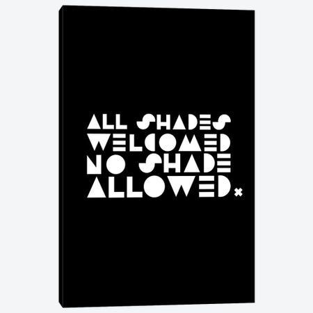 All Shades Canvas Print #SIT28} by sheisthisdesigns Canvas Art Print