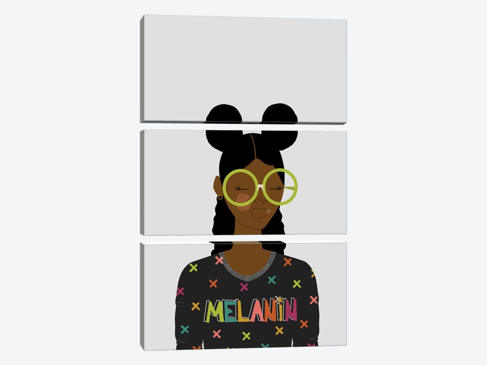 Ari by sheisthisdesigns 3-piece Canvas Wall Art