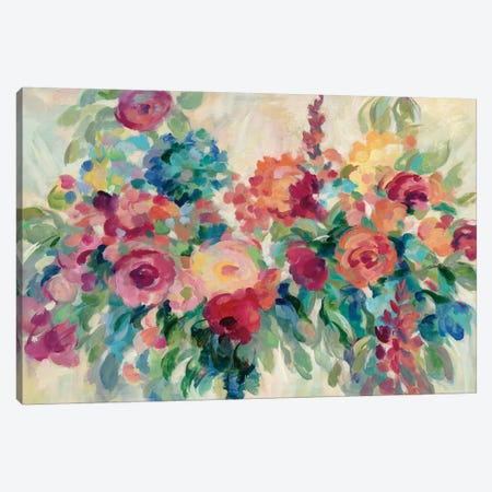 Flower Market 3-Piece Canvas #SIV103} by Silvia Vassileva Canvas Print