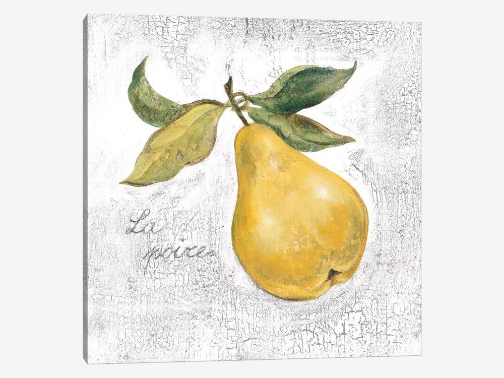 La Poire on White by Silvia Vassileva 1-piece Art Print