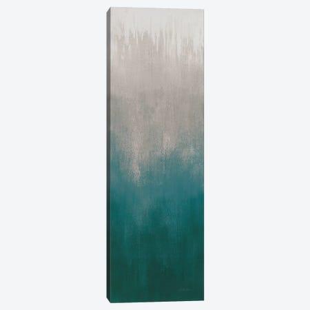 Silver Wave I Green Gray Canvas Print #SIV115} by Silvia Vassileva Canvas Art Print