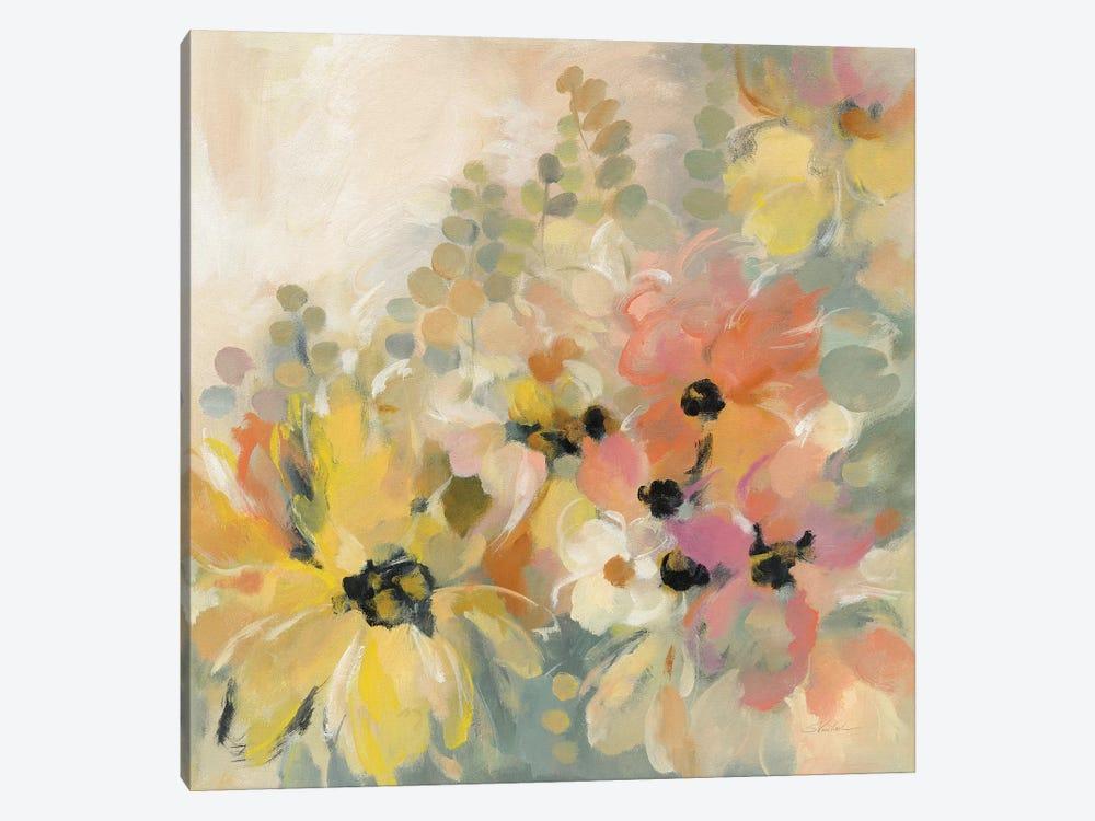 June Flower Bed by Silvia Vassileva 1-piece Canvas Artwork