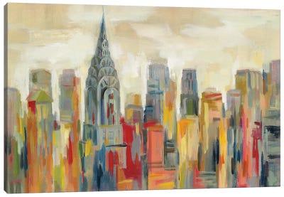 Manhattan - The Chrysler Building Canvas Art Print
