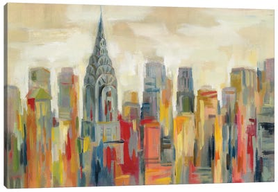 Manhattan - The Chrysler Building Canvas Art Print