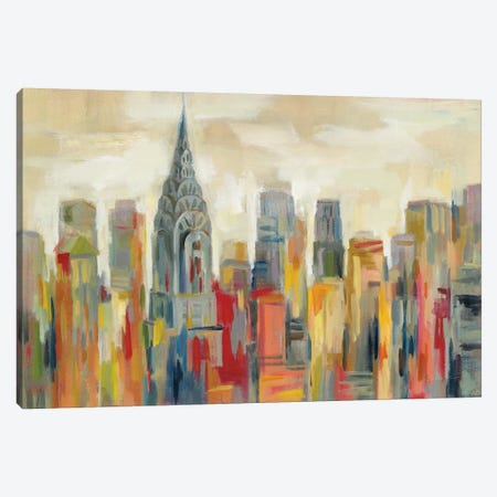 Manhattan - The Chrysler Building Canvas Print #SIV131} by Silvia Vassileva Canvas Art
