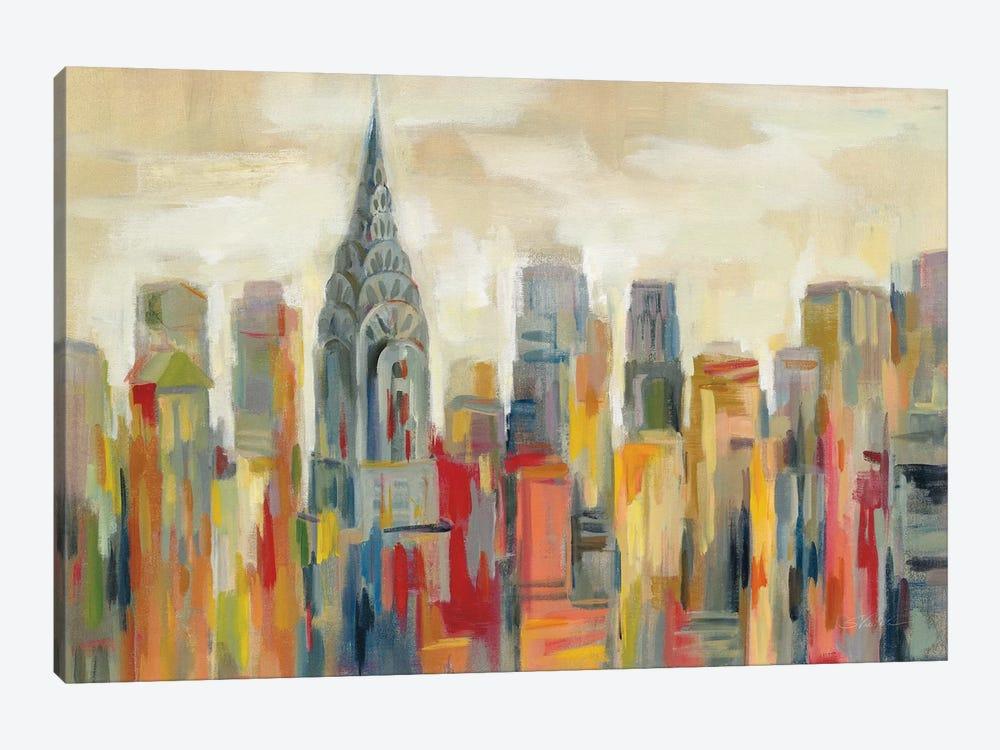 Manhattan - The Chrysler Building by Silvia Vassileva 1-piece Canvas Print