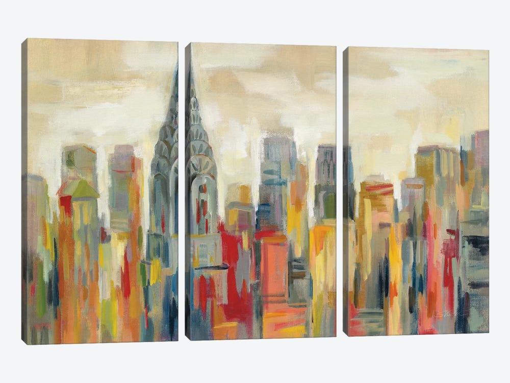 Manhattan - The Chrysler Building by Silvia Vassileva 3-piece Art Print