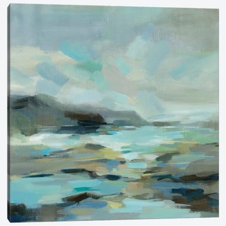 Blue Lagoon Canvas Print #SIV146} by Silvia Vassileva Canvas Artwork