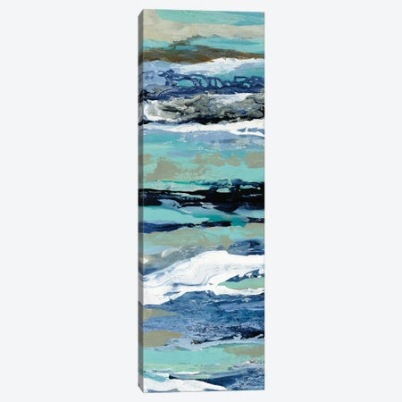 Coastal Sea Foam II Canvas Print #SIV148} by Silvia Vassileva Art Print