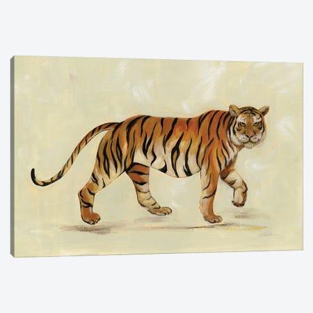 Walking Tiger Canvas Print #SIV157} by Silvia Vassileva Art Print