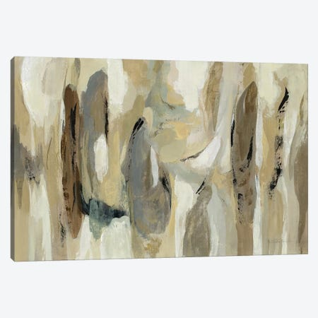 Fluidity Neutral Canvas Print #SIV160} by Silvia Vassileva Art Print