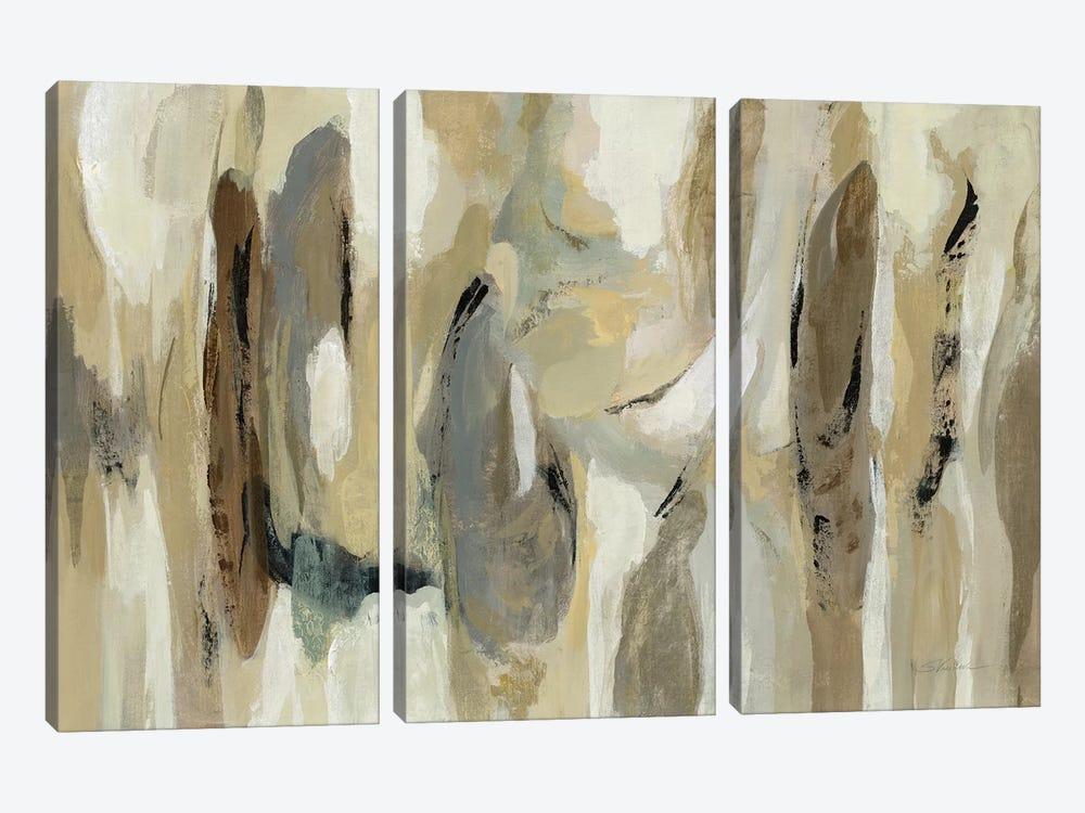 Fluidity Neutral by Silvia Vassileva 3-piece Art Print
