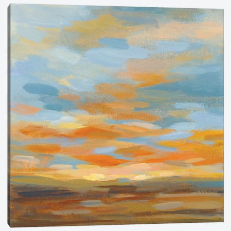 High Desert Sky II Bright Blue Canvas Print #SIV162} by Silvia Vassileva Canvas Print