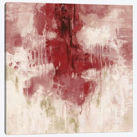 Red Rain Canvas Print #SIV166} by Silvia Vassileva Canvas Art