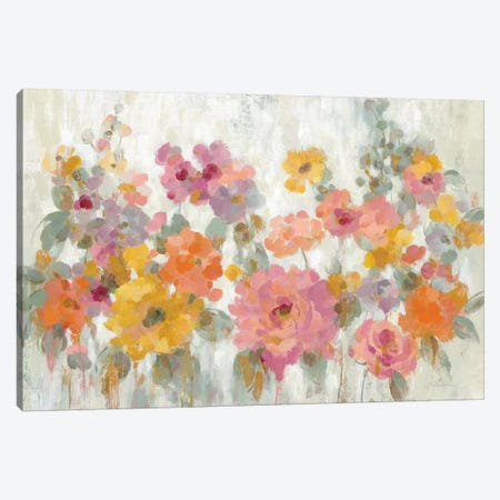 Garden Fun Canvas Print #SIV16} by Silvia Vassileva Art Print