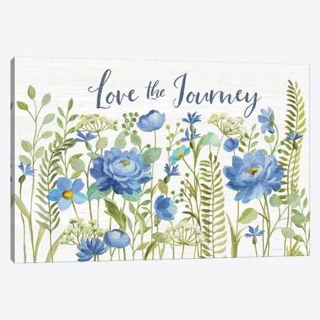 Botanical Blue II Canvas Print #SIV186} by Silvia Vassileva Canvas Artwork