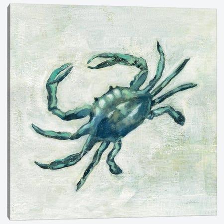 Indigo Sea Life II Canvas Print #SIV18} by Silvia Vassileva Canvas Artwork