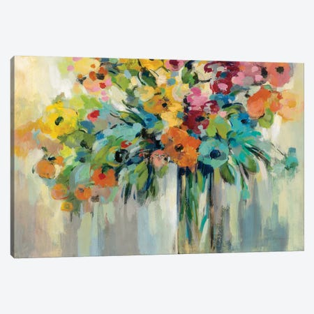 Cloud of Flowers Canvas Print #SIV191} by Silvia Vassileva Canvas Art