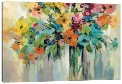 Cloud of Flowers Canvas Art Print