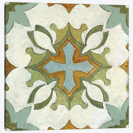 Old World Tile IX Canvas Print #SIV193} by Silvia Vassileva Canvas Wall Art