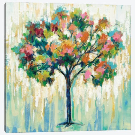 Blooming Tree Canvas Print #SIV196} by Silvia Vassileva Canvas Print