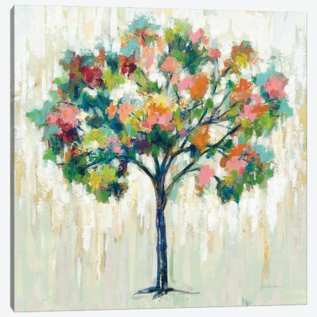 Blooming Tree Neutral Canvas Print #SIV197} by Silvia Vassileva Canvas Print