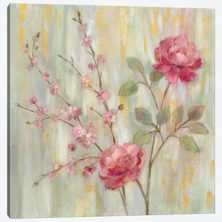 Contemporary Chinoiserie Canvas Print #SIV199} by Silvia Vassileva Canvas Artwork